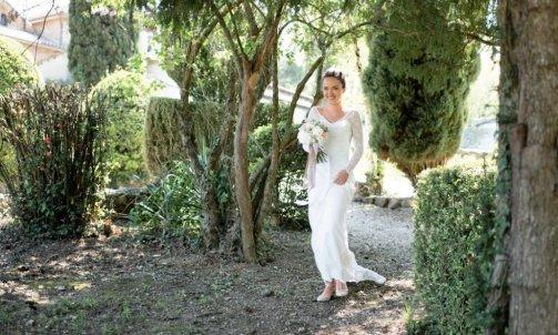 Arrivée de la mariée- Mélanie orsini - Solophotographie