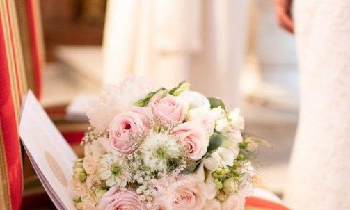 Bouquet de mariée champêtre romantique - Mélanie orsini - Solophotographie
