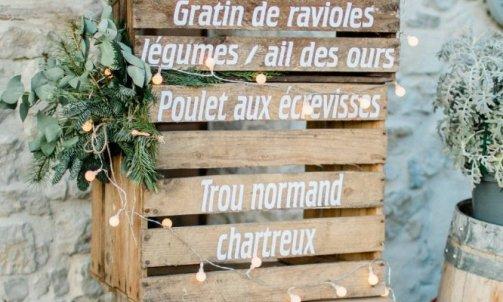 Candy bar d'hiver - Wedding Planner Vercors