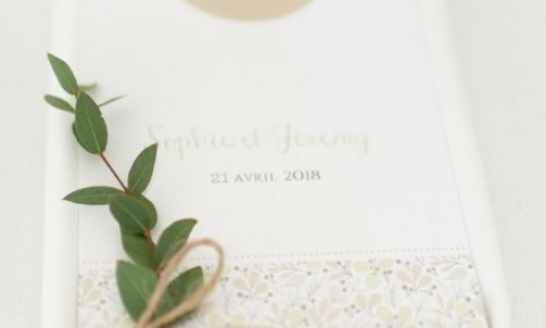 Menus mariage - Mélanie orsini - Solophotographie
